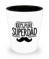 Pure Super Dad - Shot Glass - Unique Gifts Store