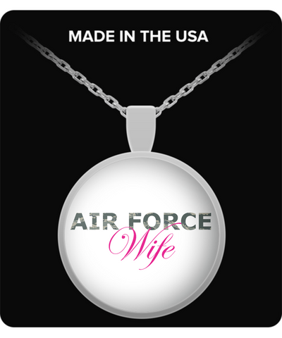 Air Force Wife - Necklace