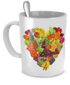 Fruity Heart - 11oz Mug - Unique Gifts Store