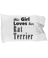 Rat Terrier - Pillow Case - Unique Gifts Store