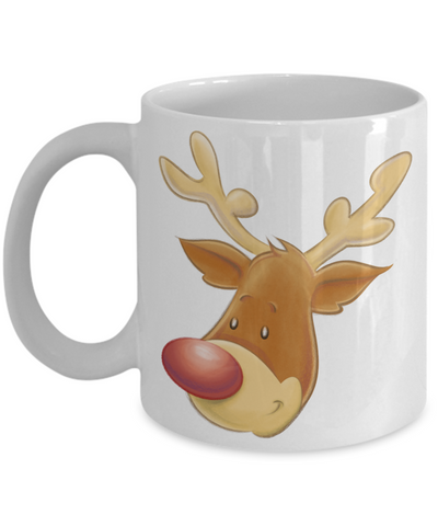 The Christmas Reindeer - 11oz Mug