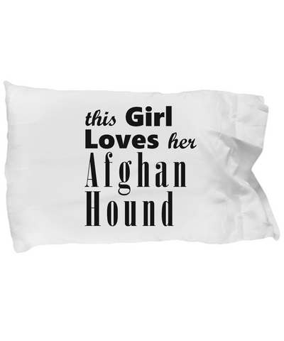Afghan Hound - Pillow Case