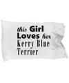 Kerry Blue Terrier - Pillow Case - Unique Gifts Store