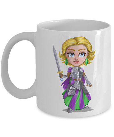 Knight - 11oz Mug v5 - Unique Gifts Store