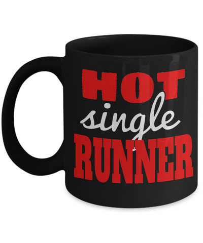 Hot Single Runner - 11oz Mug - Unique Gifts Store