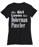 Doberman Pinscher - Women's Tee - Unique Gifts Store