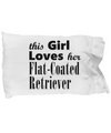 Flat-Coated Retriever - Pillow Case - Unique Gifts Store