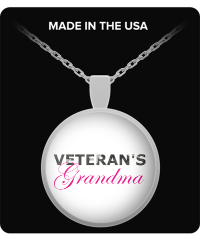 Veteran's Grandma - Necklace - Unique Gifts Store