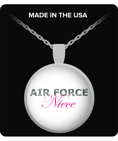 Air Force Niece - Necklace