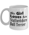 Staffordshire Bull Terrier - 11oz Mug - Unique Gifts Store