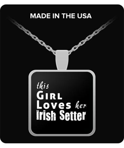 Irish Setter - Necklace - Unique Gifts Store