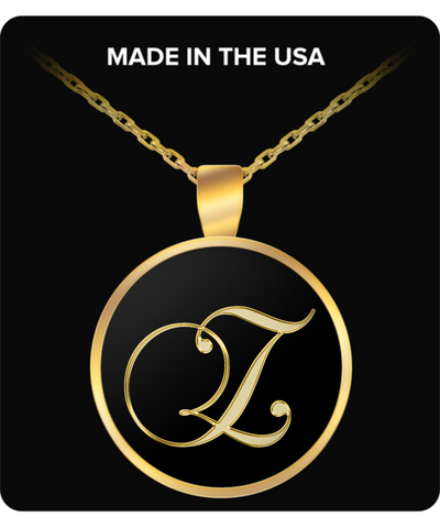 Initial Z - Gold Plated Necklace