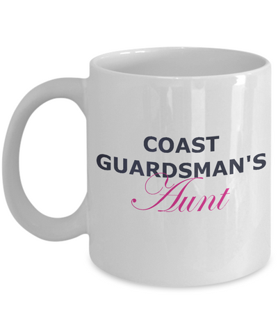 Coast Guardsman's Aunt - 11oz Mug - Unique Gifts Store
