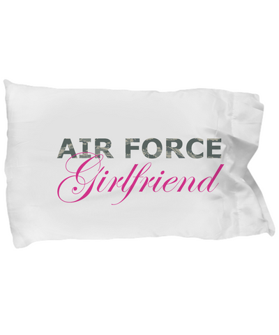 Air Force Girlfriend - Pillow Case