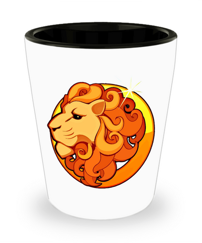 Leo - Shot Glass - Unique Gifts Store