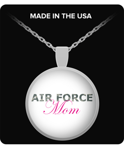 Air Force Mom - Necklace