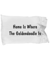 Goldendoodle's Home - Pillow Case - Unique Gifts Store