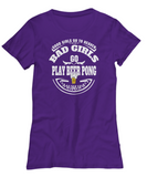 Play Beer Pong - Women's Tee - Unique Gifts Store