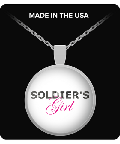 Soldier's Girl - Necklace - Unique Gifts Store