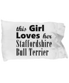 Staffordshire Bull Terrier - Pillow Case - Unique Gifts Store