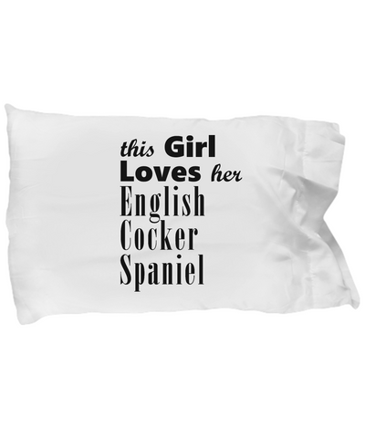English Cocker Spaniel - Pillow Case - Unique Gifts Store
