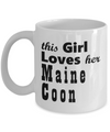 Maine Coon - 11oz Mug - Unique Gifts Store