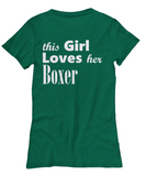 Boxer - Women's Tee - Unique Gifts Store