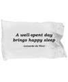 Happy Sleep - Pillow Case - Unique Gifts Store
