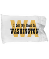 Heart In Washington - Pillow Case