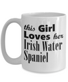 Irish Water Spaniel - 15oz Mug