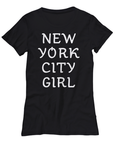 New York City Girl - Women's Tee - Unique Gifts Store