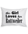 Rottweiler - Pillow Case - Unique Gifts Store