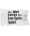 King Charles Spaniel - Pillow Case - Unique Gifts Store