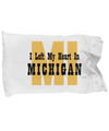 Heart In Michigan - Pillow Case