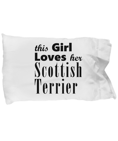 Scottish Terrier - Pillow Case - Unique Gifts Store