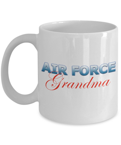 Air Force Grandma - 11oz Mug v2 - Unique Gifts Store