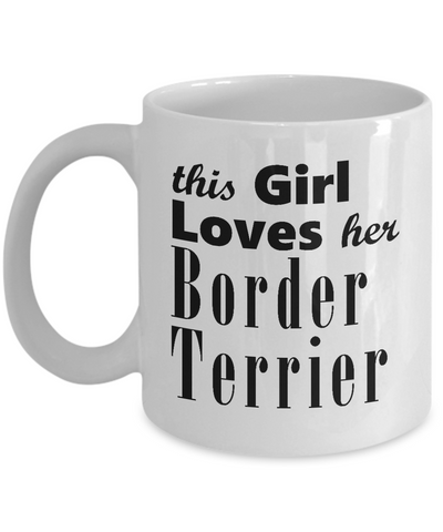 Border Terrier - 11oz Mug - Unique Gifts Store