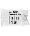 Bichon Frise - Pillow Case - Unique Gifts Store