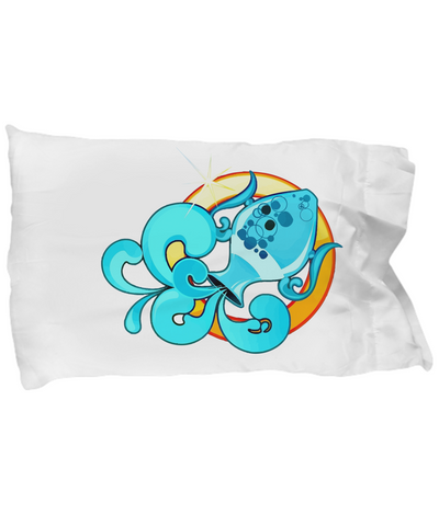 Zodiac Sign Aquarius - Pillow Case