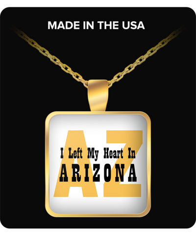 Heart In Arizona - Gold Plated Necklace