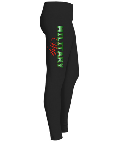 Military Wife - Leggings - Unique Gifts Store