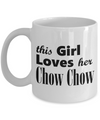 Chow Chow - 11oz Mug - Unique Gifts Store