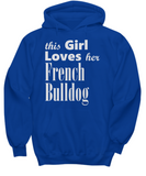 French Bulldog - Hoodie - Unique Gifts Store