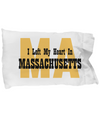 Heart In Massachusetts - Pillow Case