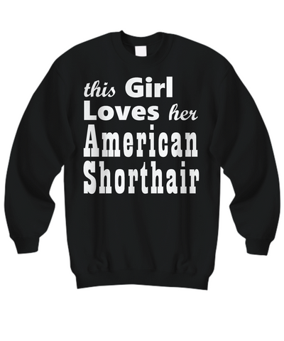 American Shorthair - Sweatshirt - Unique Gifts Store