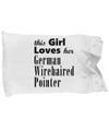German Wirehaired Pointer - Pillow Case - Unique Gifts Store