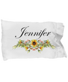 Jennifer v5 - Pillow Case