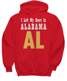 Heart In Alabama - Hoodie - Unique Gifts Store