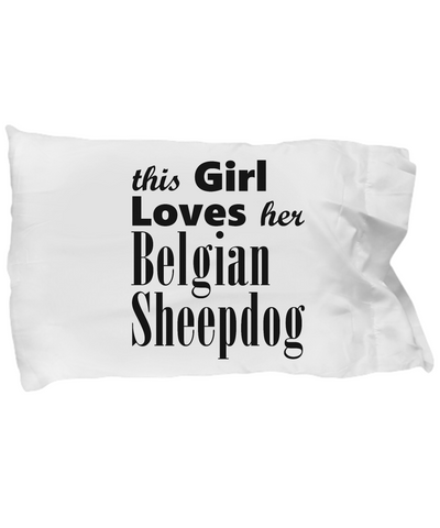 Belgian Sheepdog - Pillow Case