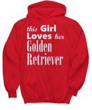 Golden Retriever - Hoodie - Unique Gifts Store